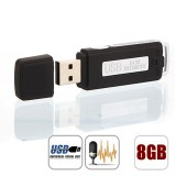 USB FLASHDISK VOICE RECORDER 8GB