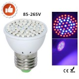 Grow Light Hydroponic 60 Led 220V E27