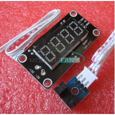 Test Speed Optocoupler Sensor Optical Tachometer RPM